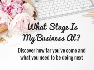 What Stage Is My Business At